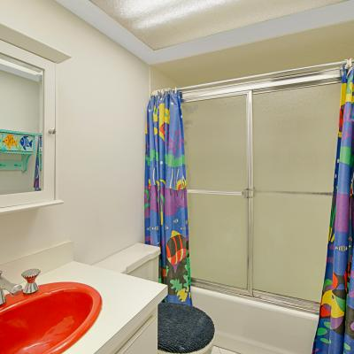 Bathroom of 4 Bedroom Dream Home on a Corner Lot in Staten Island New York Awaits You