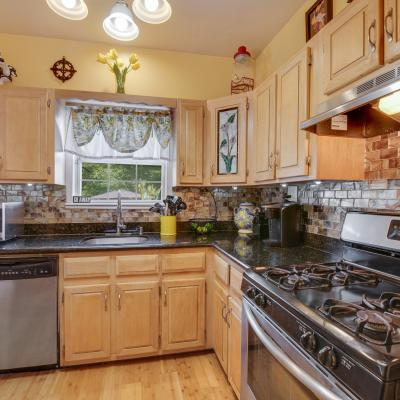 Kitchen of House for sale in the Heart Of Great Kills Staten Island New York