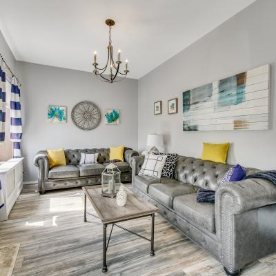 Living Room of Fabulous House for Sale in South Beach, Staten Island, New York