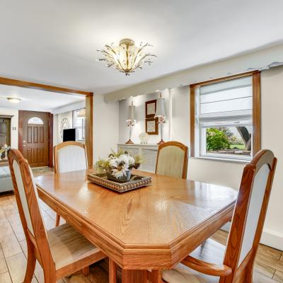Dining Room of Fabulous House for Sale in South Beach, Staten Island, New York