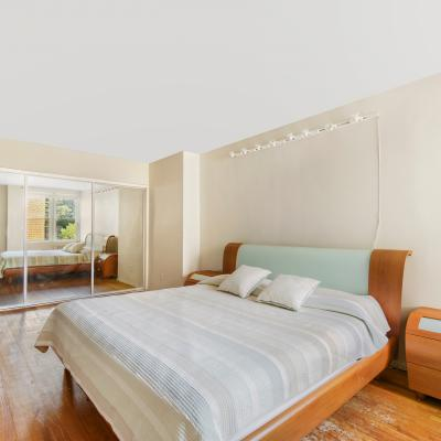 Bedroom in apartment for sale in St. George Staten Island New York