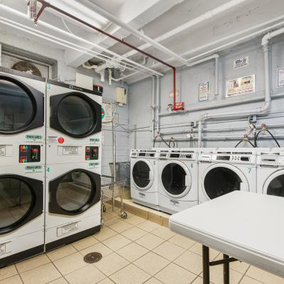 Laundry facility of apartment for sale in St. George Staten Island New York