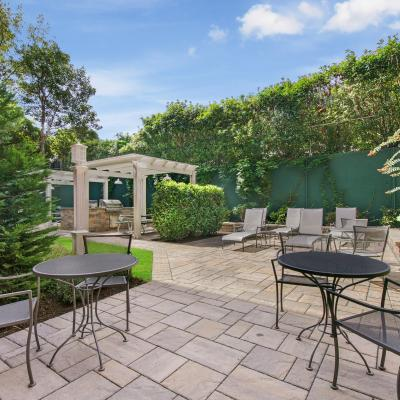 Outdoor area of apartment for sale in St. George Staten Island New York