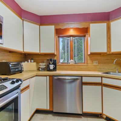 Kitchen of Handsome ''American Foursquare'' Colonial for sale -- Staten Island, New York