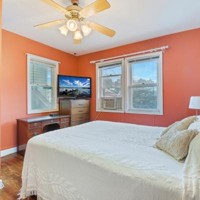 Bedroom of Handsome ''American Foursquare'' Colonial for sale -- Staten Island, New York