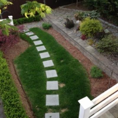 Fabulous garden - Ward Hill home for sale - Staten Island New York