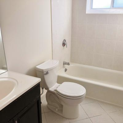 Bathroom - Convenient To Everything! 2 BR Semi For Sale In Graniteville, Staten Island New York
