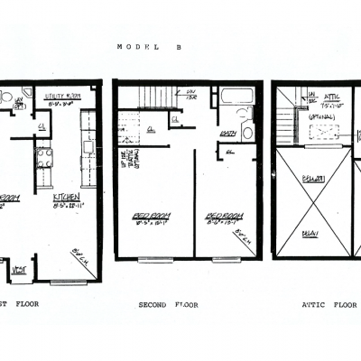 Floor plan of Spacious Townhouse Style Condo For Sale In Graniteville, Staten Island, NY