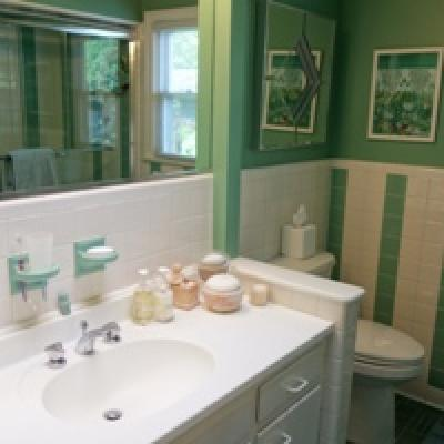 Bathroom- Half Acre Country Setting for sale - High Rock - Staten Island New York