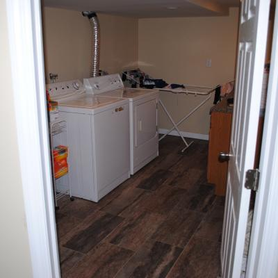 Laundry Room of Stunning Two Family for sale in Dongan Hills, Staten Island, NY